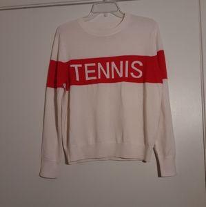 Tory Burch Tory Sport Tennis Sweater Size XS